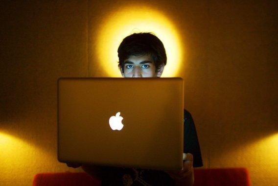 Activist and WEBpopularizer Aaron Swartz