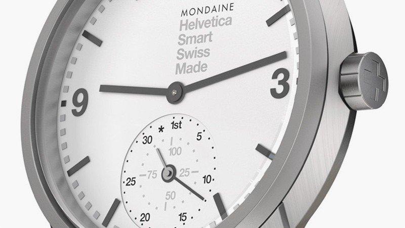 Montre connectée Helvetica 1 Smartwatch de Mondaine