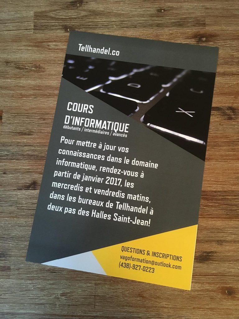 Image de l'affiche des formations web et cours d'informatique TellHandel à St-Jean-sur-Richelieu au Canada