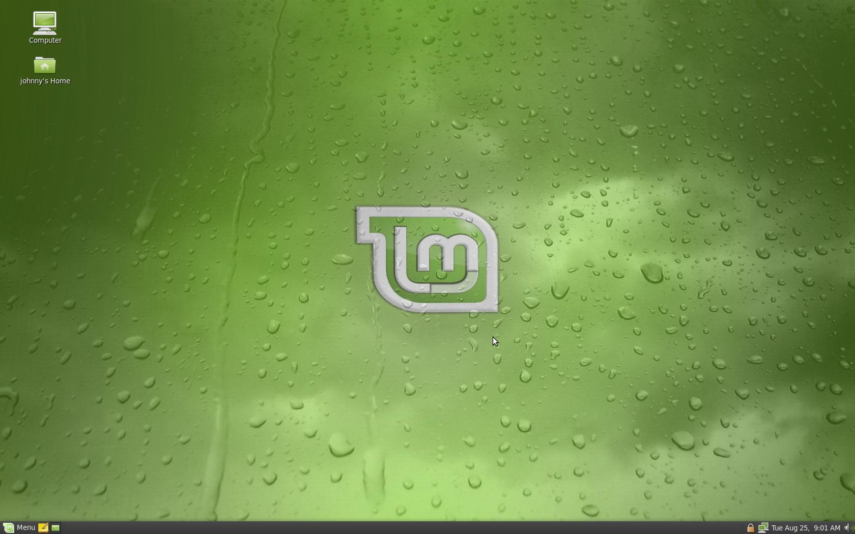 GNU / Linux Mint 17 Rebecca