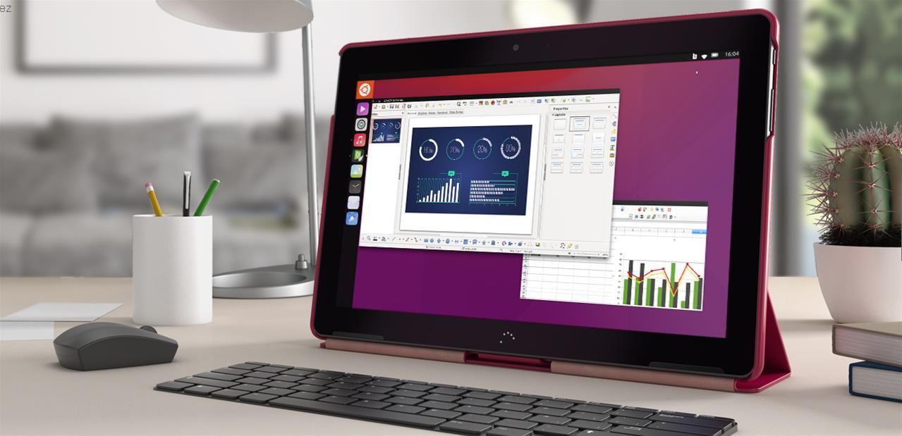Tablette BQ Aquaris M10 sous système d'exploitation Ubuntu