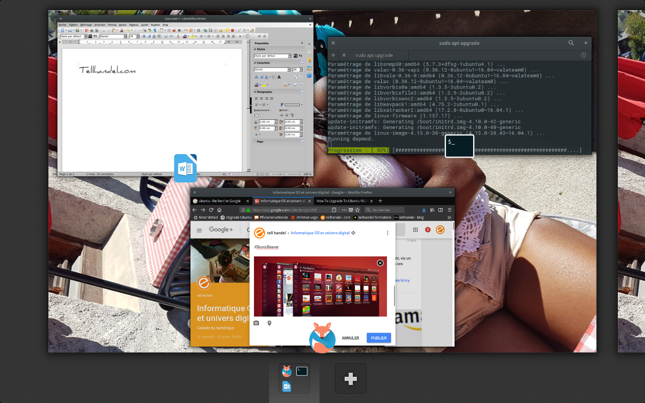 Ubuntu 18.04, le castor bionique arrive!